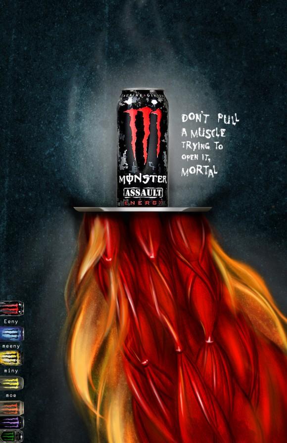 Energy Drink Advertising Ideas