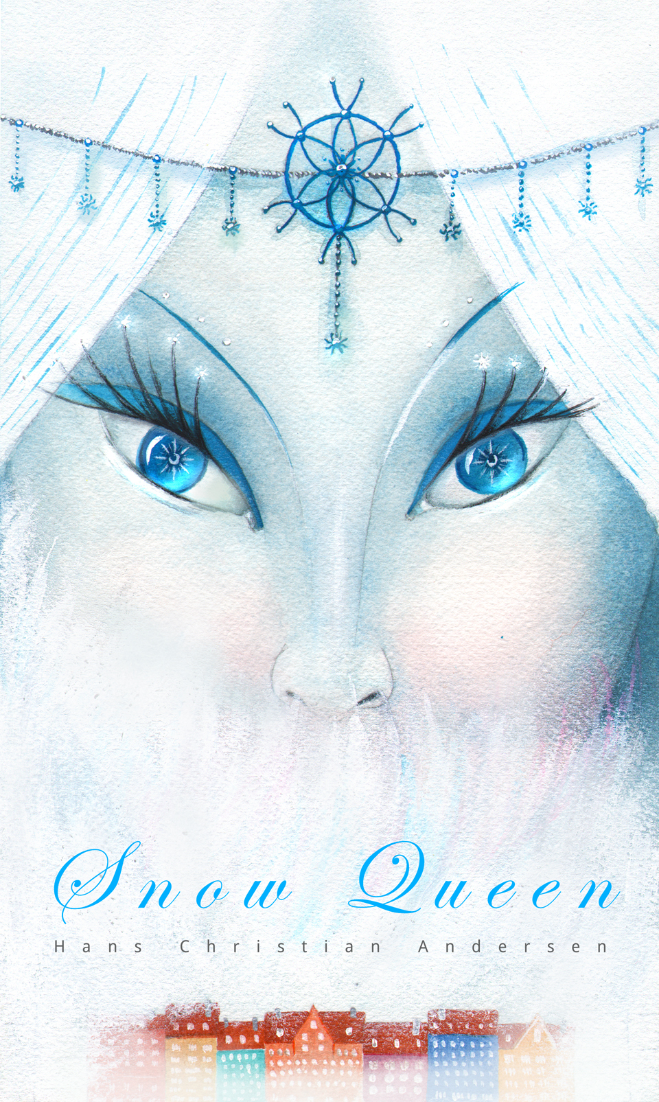 Snow Queen Illustrations Snow Queen Book Illustration