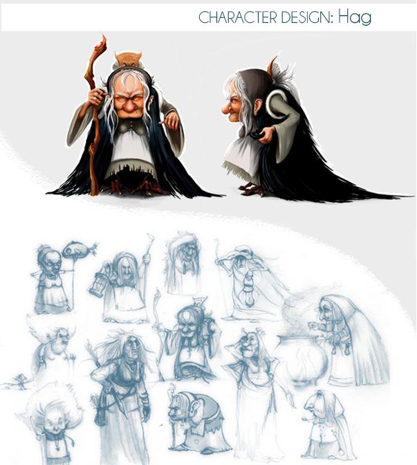Hag sketches