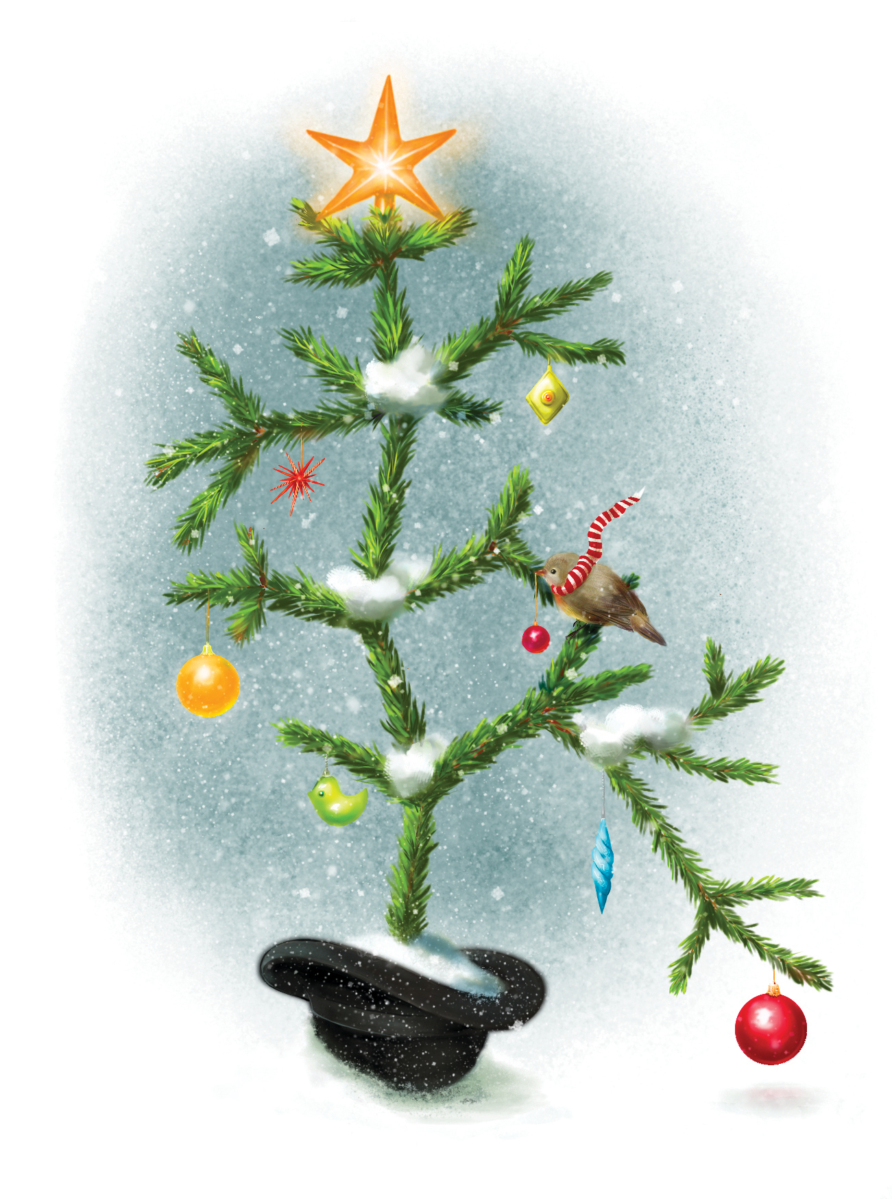Illustrations by Cathy-Reene » Charles Darwin\'s Christmas Tree of ...